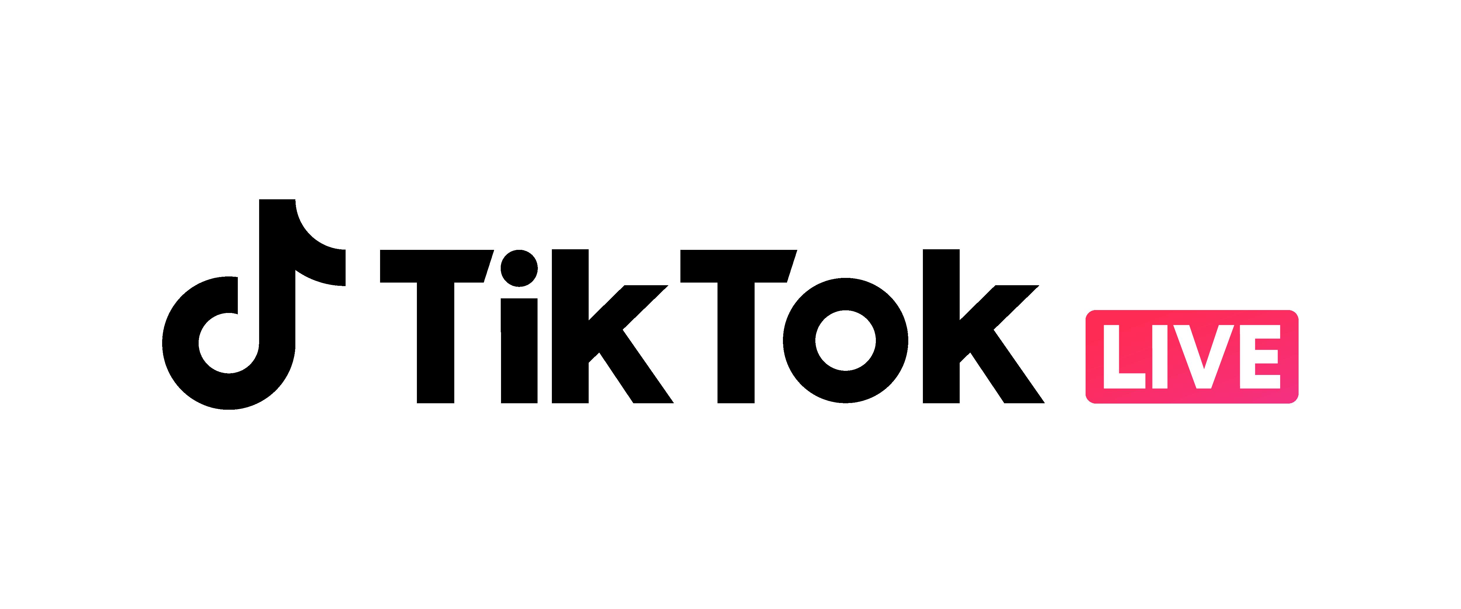 TikTok LIVE ロゴ