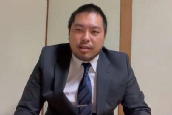 へずまりゅう、街頭演説で「山口県知事、ごめんなさいでした~!」